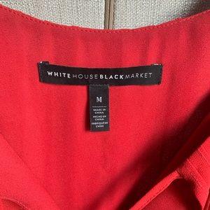 White House Black Market Tops - White House Black Market silk sleeveless shirt.